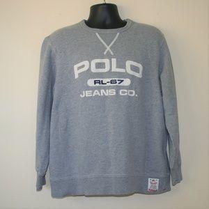 Vintage Polo Jeans Co Ralph Lauren 67 Sweatshirt L